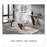 CARLA (COFFEE - END - CONSOLE)